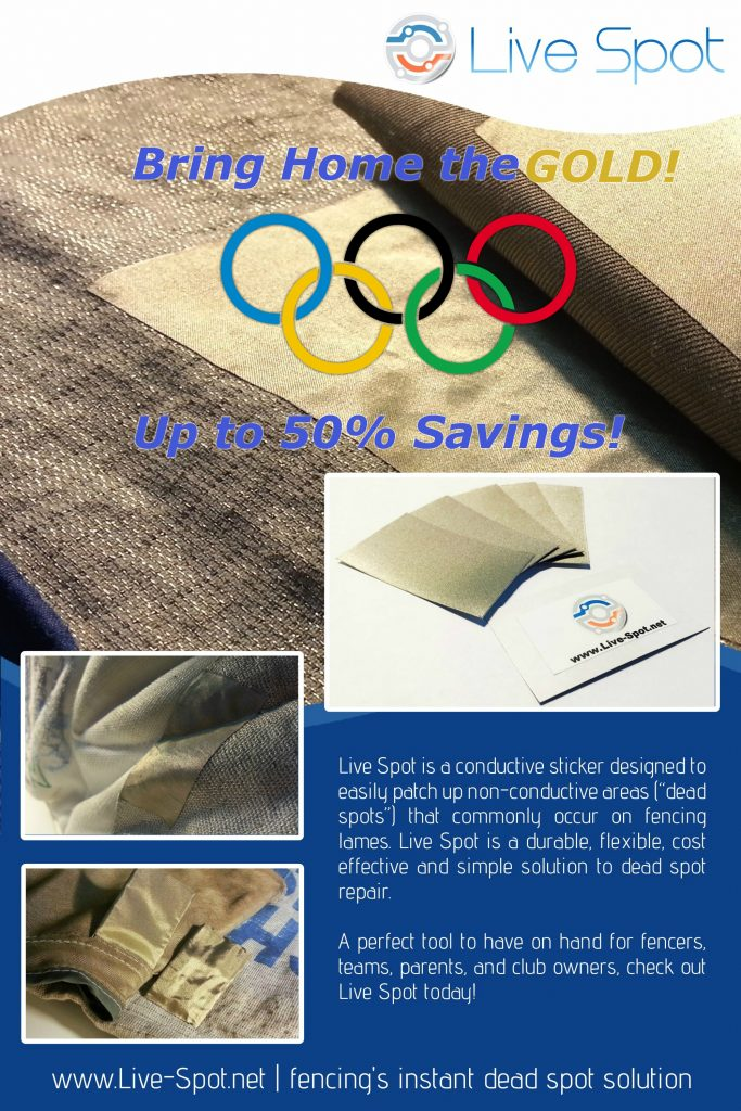 Live Spot Brochure - Olympic Sale